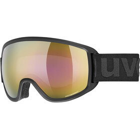 UVEX Topic FM sphere Goggles black mat/mirror gold